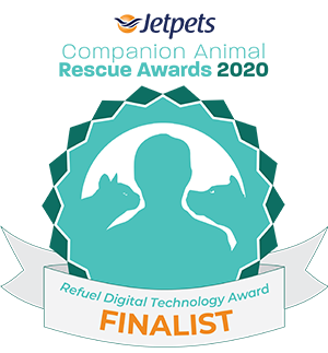 JetPets Rescue Awards Refuel Digital Technology finalist 2020